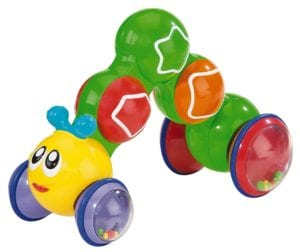 Kidoozie Press N Go Inchworm